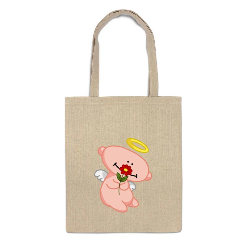 Printio Сумка Ангел с цветком printio сумка с абстрактным рисунком