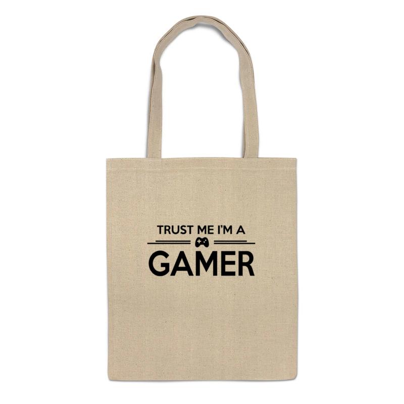 Фото - Printio Сумка Доверяй мне (я геймер) printio футболка классическая доверяй мне я геймер