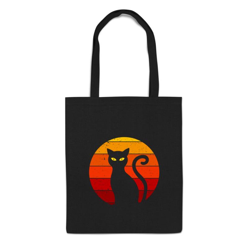 Printio Сумка Черный кот сумка printio черный жеребец феррари