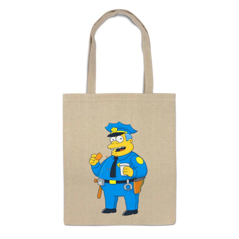 Printio Сумка Полицейский из симпсонов