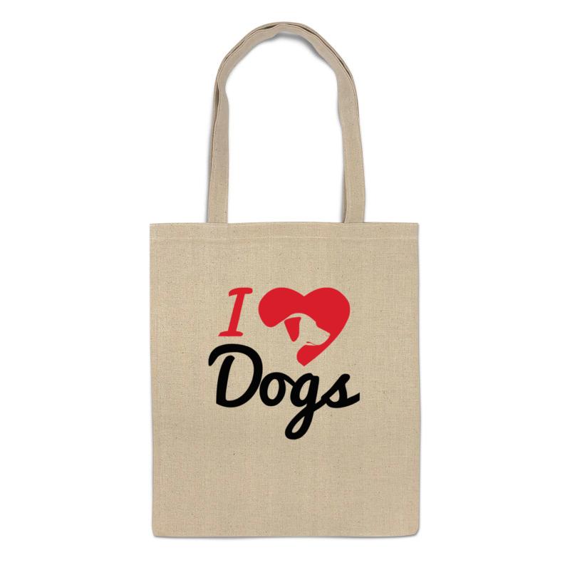 Фото - Printio Сумка Я люблю собак printio сумка я люблю этот мир