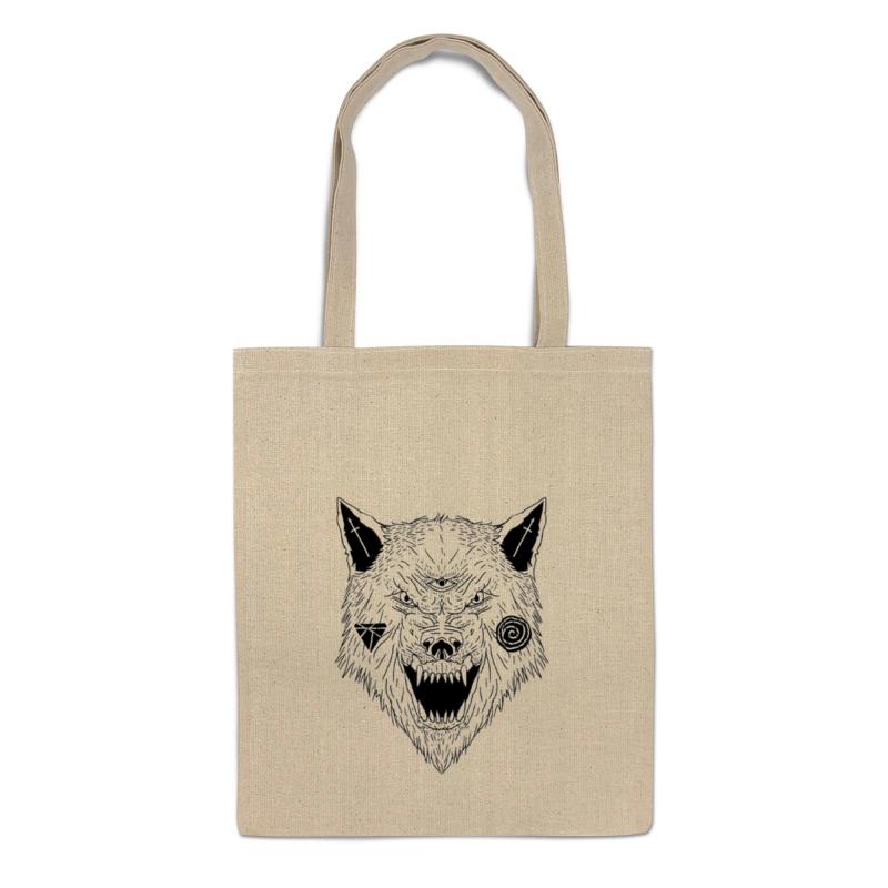 printio серый волк 1 Printio Сумка Серый волк