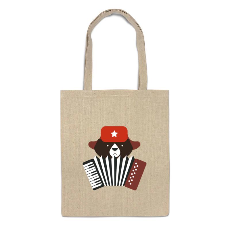 Printio Сумка Медведь с гармошкой printio сумка с абстрактным рисунком