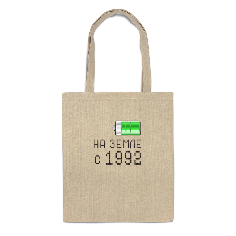 Printio Сумка На земле с 1992 printio сумка с абстрактным рисунком