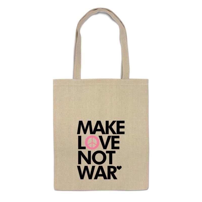printio make tea not war Printio Сумка Make love not war