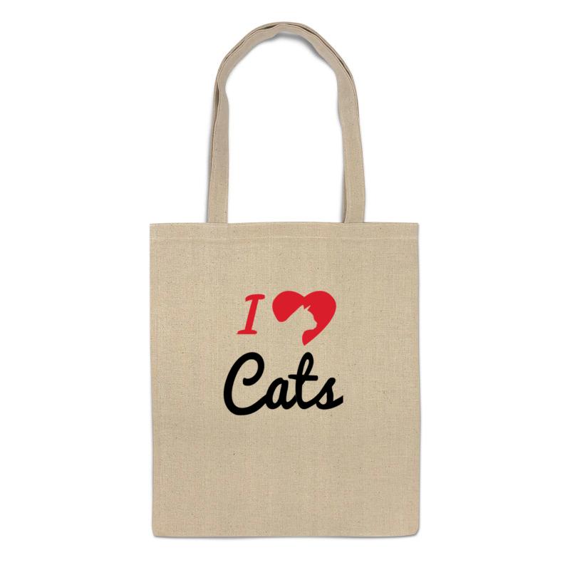 Фото - Printio Сумка Я люблю котов printio сумка я люблю этот мир
