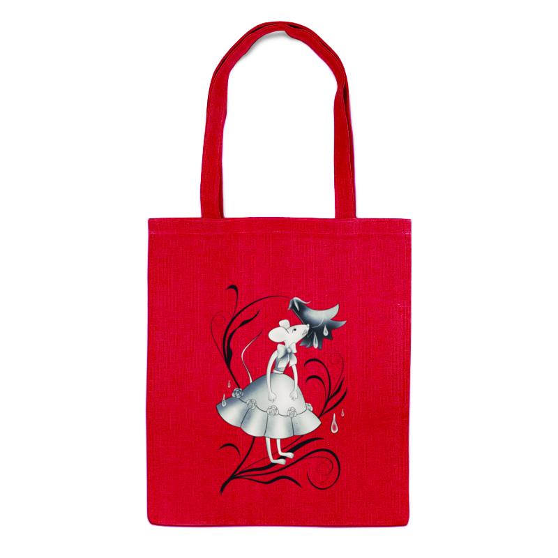 сумка printio мышка Printio Сумка Милая мышка