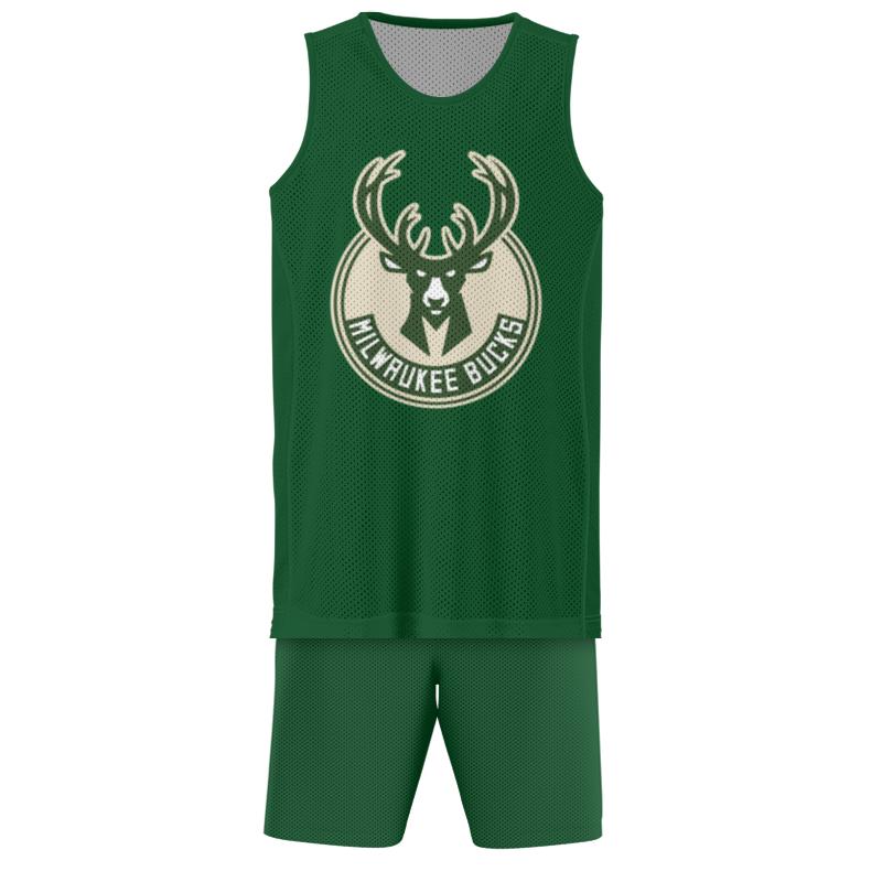 Printio Баскетбольная форма Milwaukee bucks
