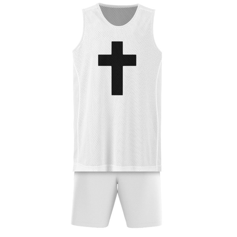 Printio Баскетбольная форма Чёрный крест