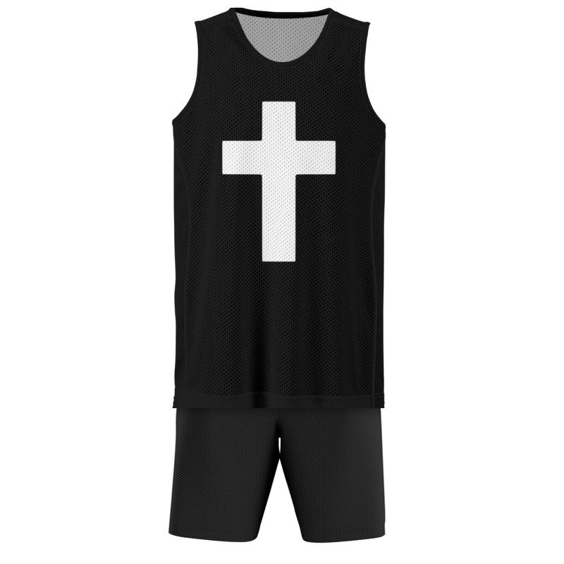 Printio Баскетбольная форма Белый крест