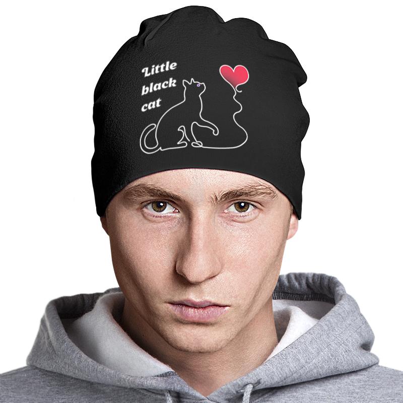 Printio Шапка классическая унисекс Black cat шапка truespin paris black