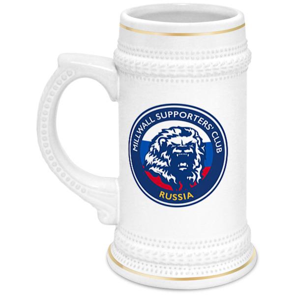 Printio Кружка пивная Millwall msc beer cup
