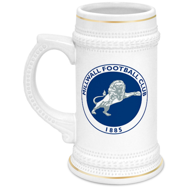 Printio Кружка пивная Millwall fc logo beer cup