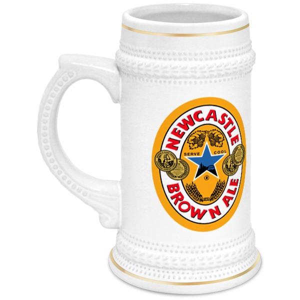 Printio Кружка пивная Newcastle beer can