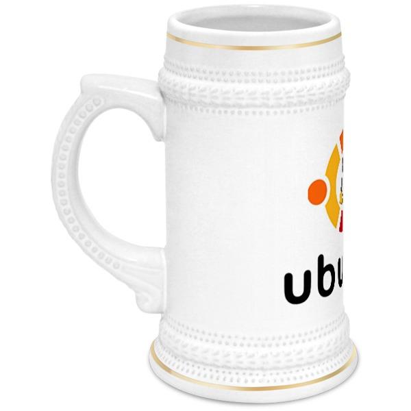 Printio Кружка пивная Ubuntu
