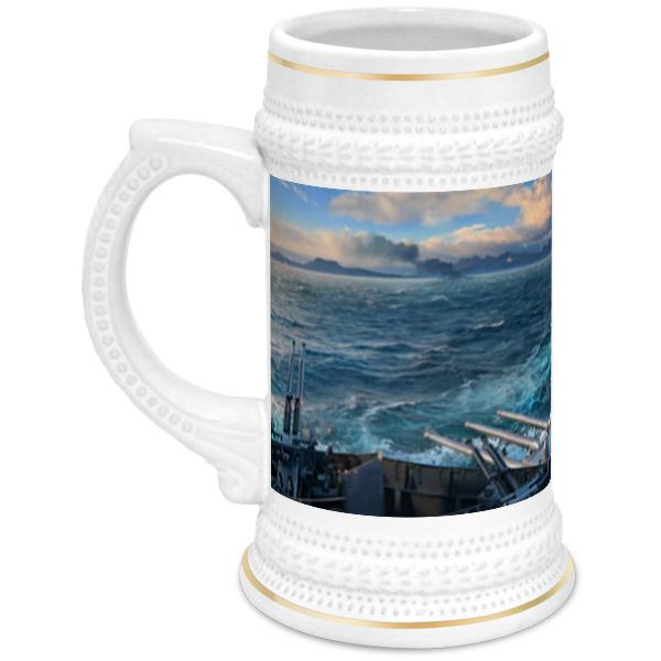 Printio Кружка пивная World of warships