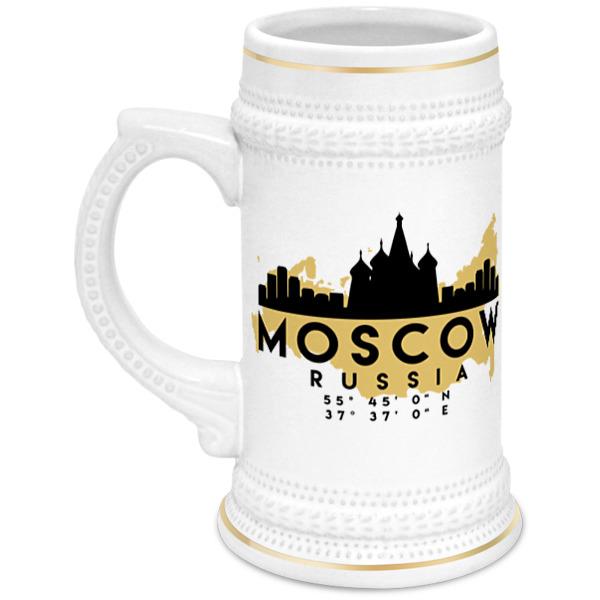 Printio Кружка пивная Москва (россия)