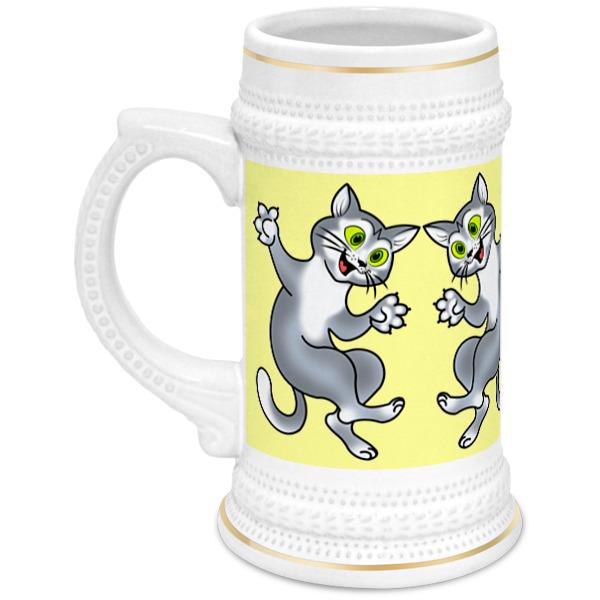 Printio Кружка пивная Пивные коты