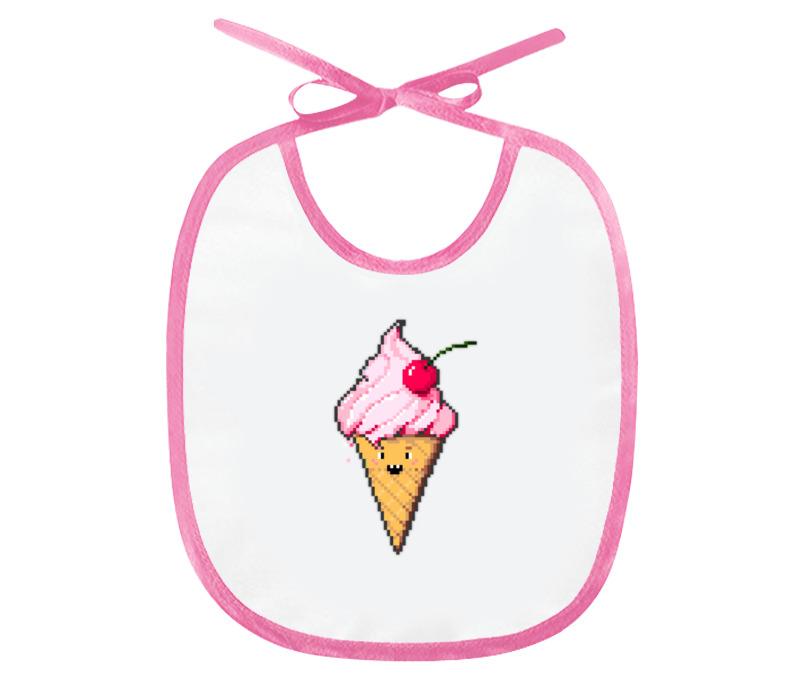 Printio Слюнявчик Ice cream недорого