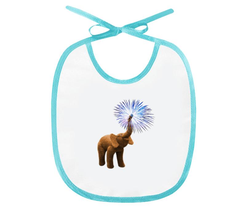 Printio Слюнявчик Весёлый слонёнок