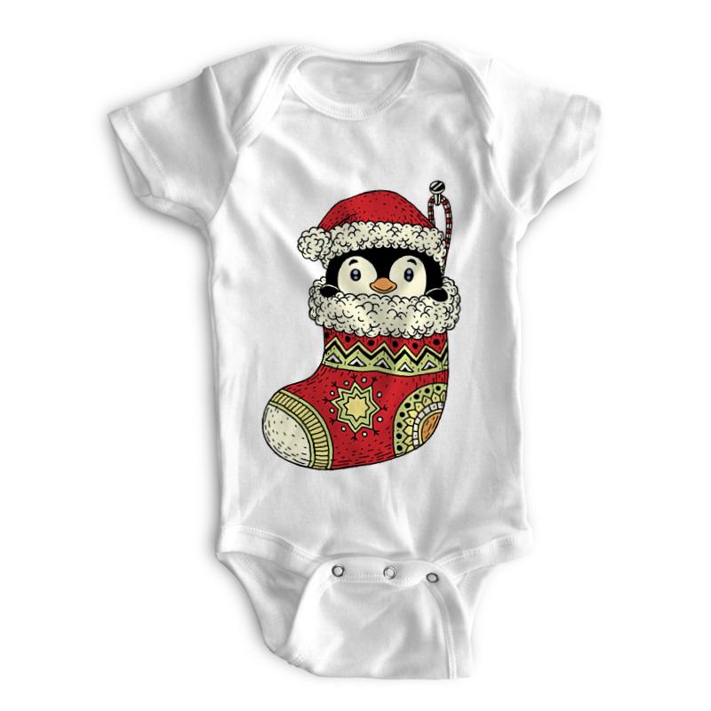 Printio Детские боди Подарок на рождество