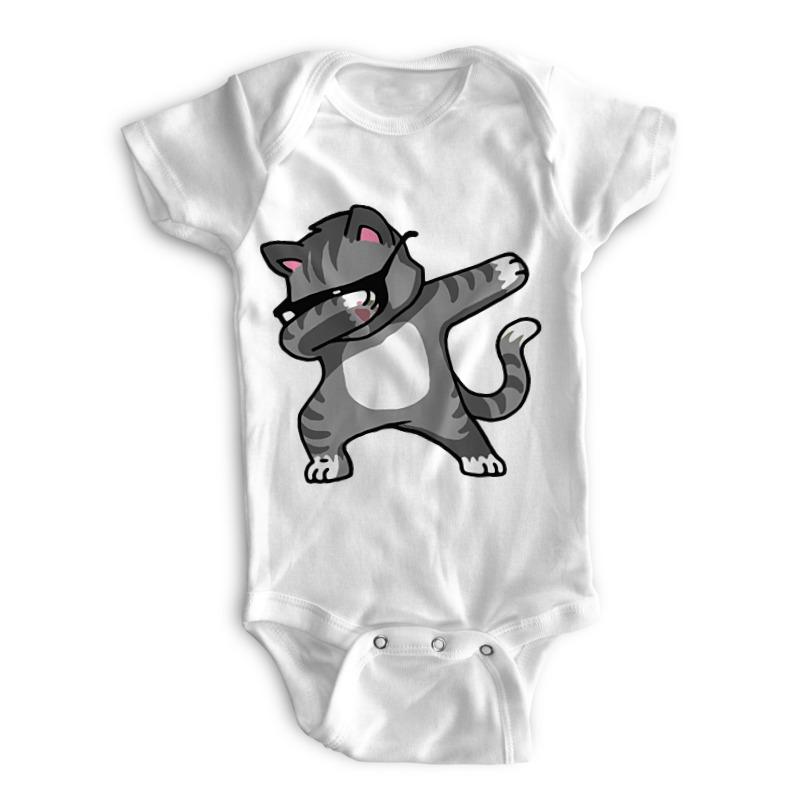 Printio Детские боди Котик printio детские боди котик с сачком