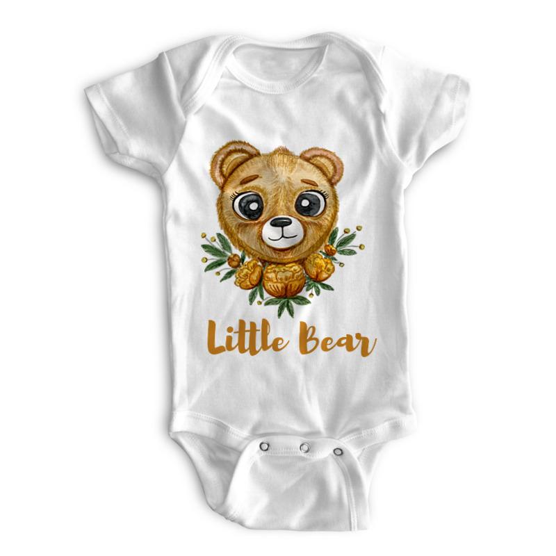little bear Printio Детские боди little bear