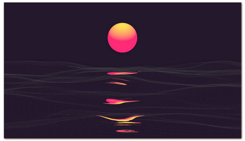 Printio Визитная карточка Солнце