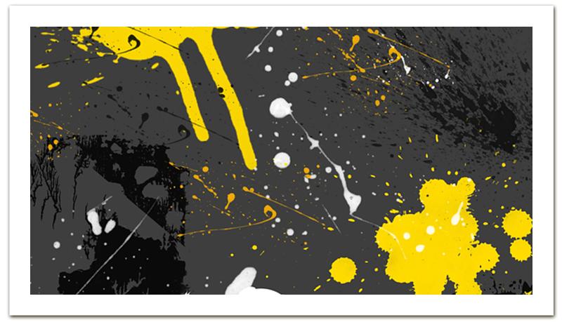 Printio Визитная карточка Визитка абстракция