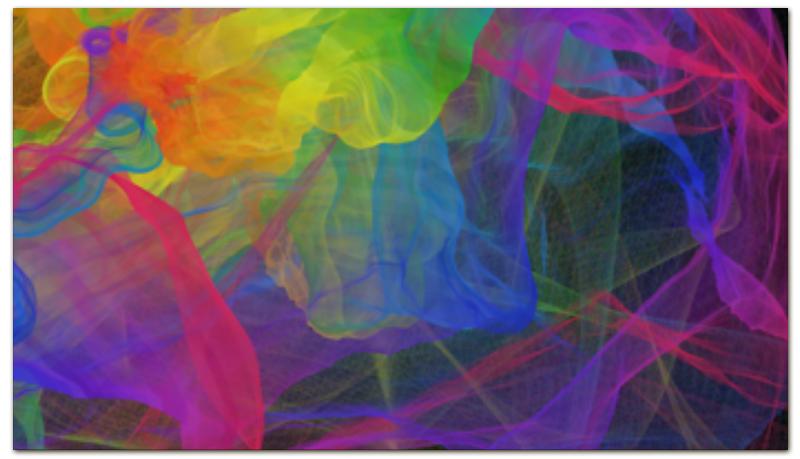 Printio Визитная карточка Абстракция