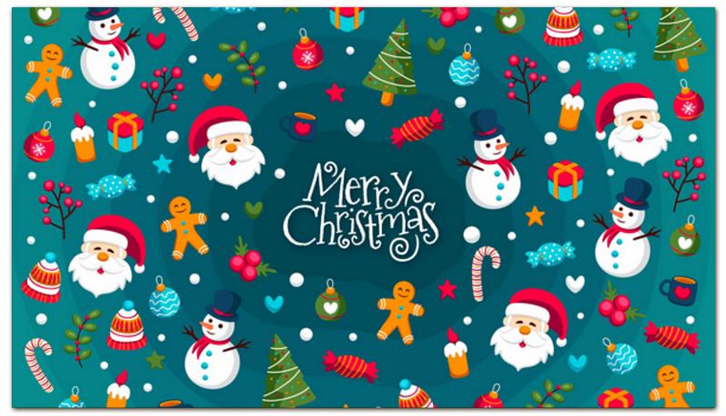 Printio Визитная карточка Новый год