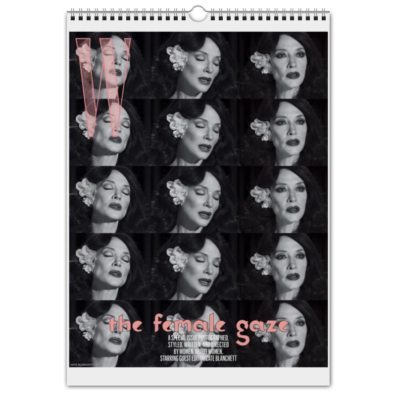 Printio Перекидной Календарь А3 Cate blanchett