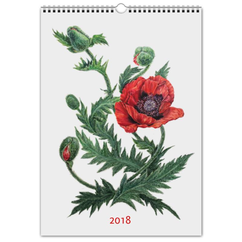 Printio Перекидной Календарь А3 Цветочный мир