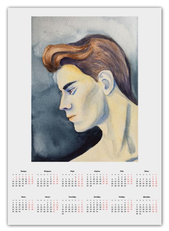 Printio Календарь А2 Красивый парень