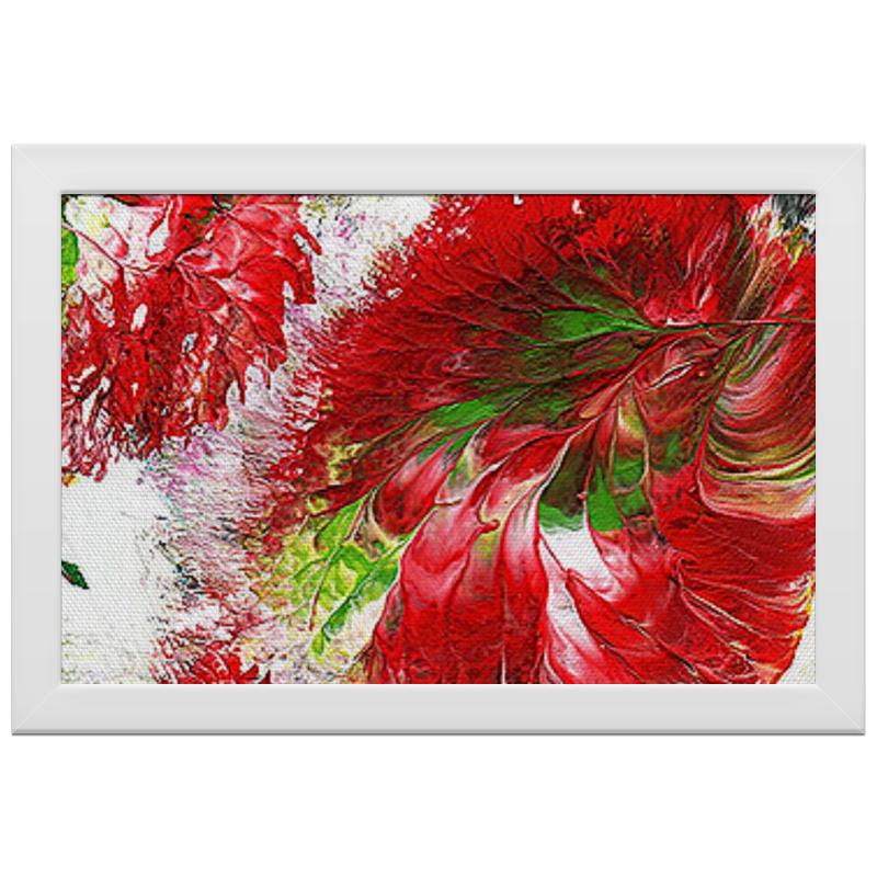 Printio Холст 20×30 Весна в цветах