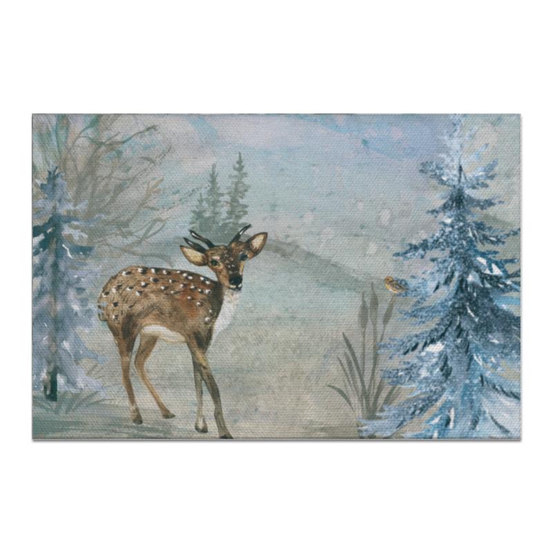 Фото - Printio Холст 20×30 Лесные жители раннее развитие геодом рисовалка лесные жители