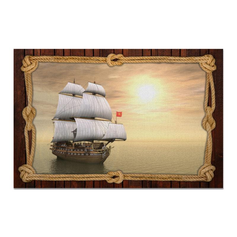 Printio Холст 20×30 Море корабль