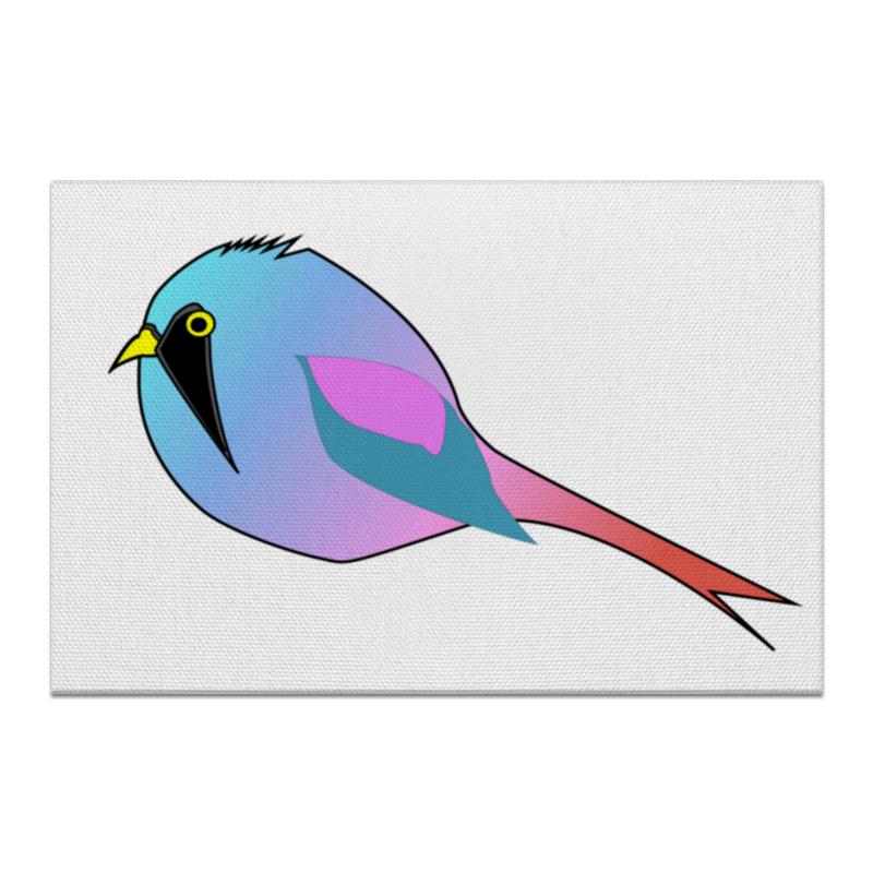 Printio Холст 20×30 Неоновая птичка