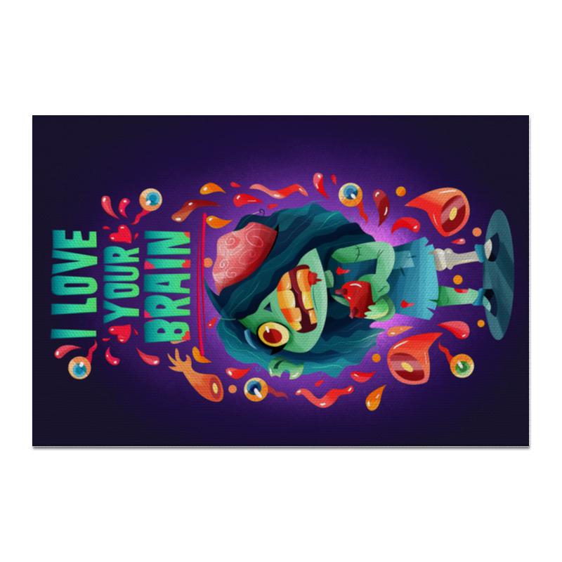 Printio Холст 20×30 Милашка зомби