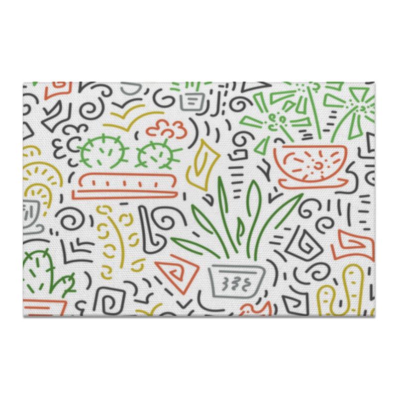 Printio Холст 20×30 Комнатные цветы