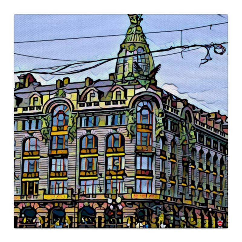 Printio Холст 30×30 Петербург