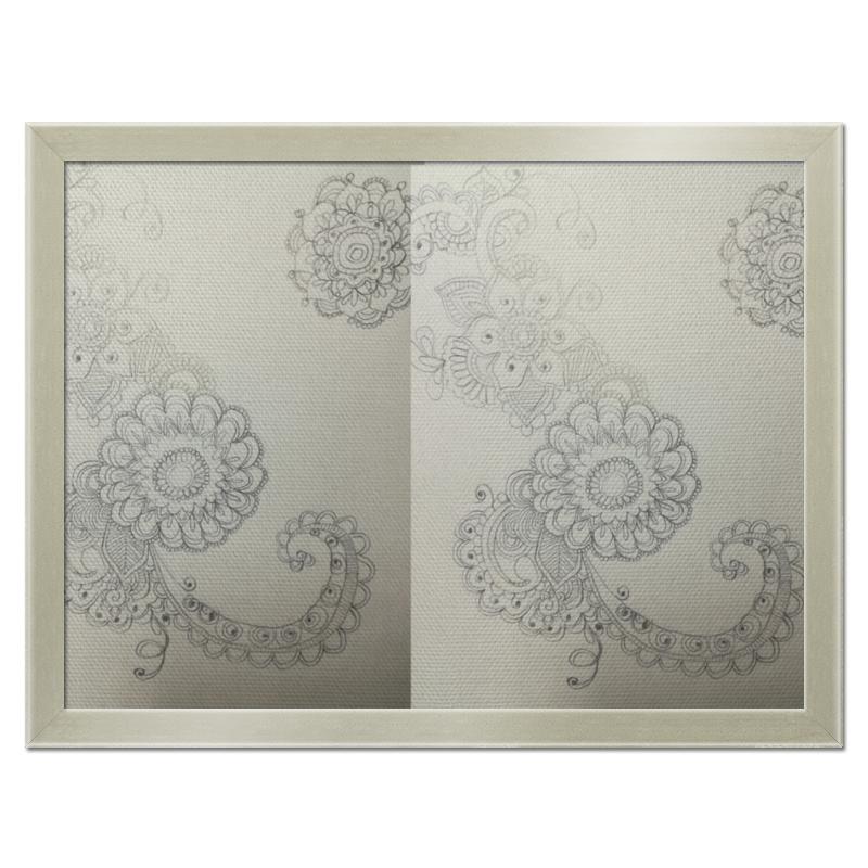Printio Холст 30×40 Узоры, цветы