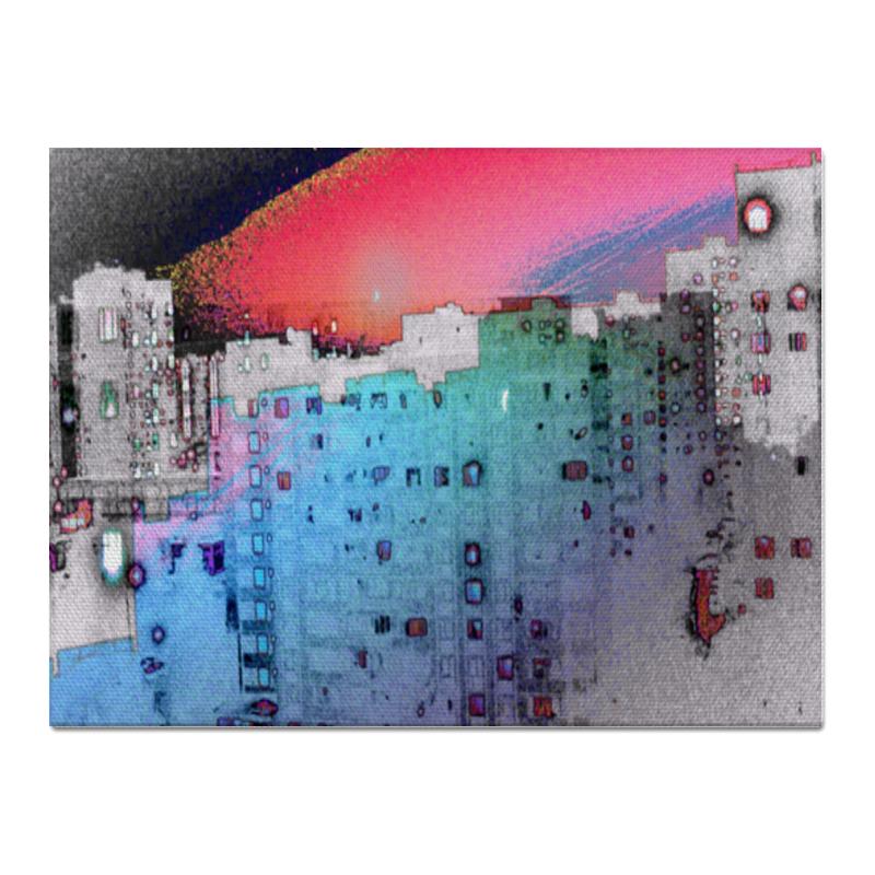 Printio Холст 30×40 Город в моем исполнении