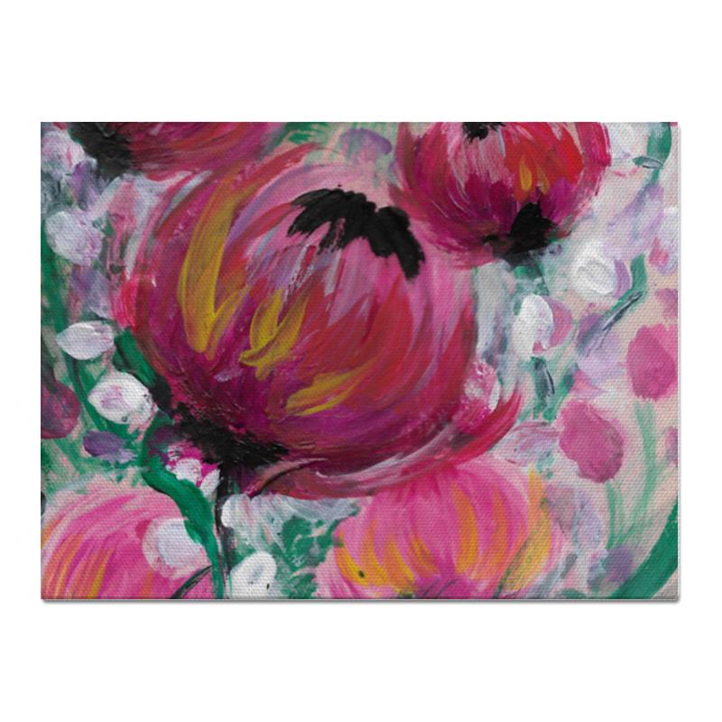 Printio Холст 30×40 Полевые цветы