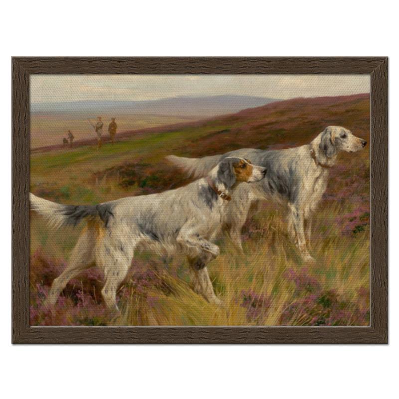 Фото - Printio Холст 30×40 Охота с собаками printio холст 40×55 охота с собаками