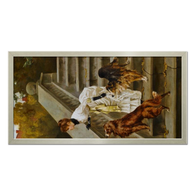Фото - Printio Холст 30×60 Дама с собаками printio холст 40×55 охота с собаками