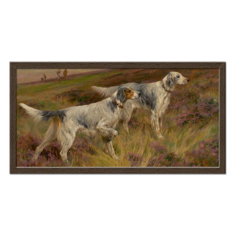 Фото - Printio Холст 30×60 Охота с собаками printio холст 40×55 охота с собаками