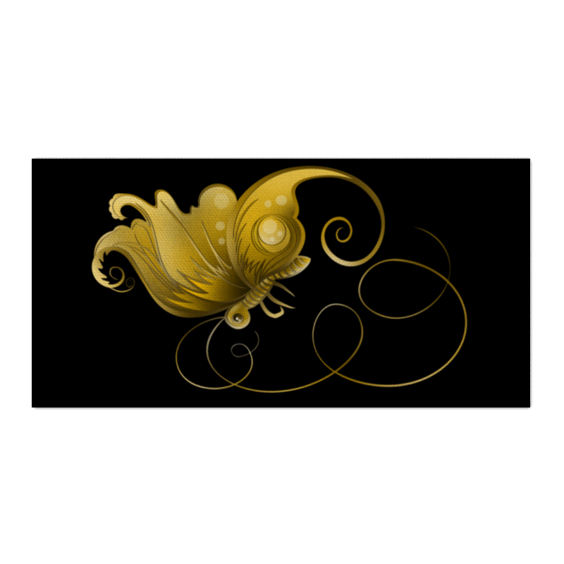 Printio Холст 30×60 Золотая бабочка printio холст 30×30 бабочка