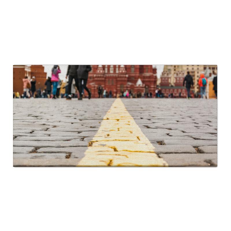 Printio Холст 30×60 Москва, красная площадь