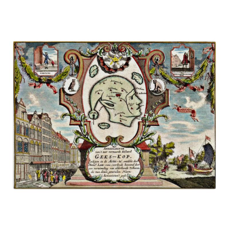 Printio Холст 40×55 Карта ирландии